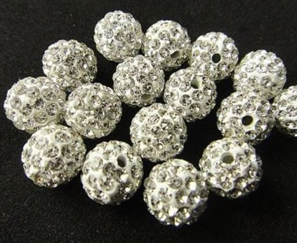Beads 6mm Light Blue Top Quality Czech Crystal Rhinestones Pave Clay Round Disco Ball Spacer Beads For Jewelry 100pcs Pack Jewelry & Accessories