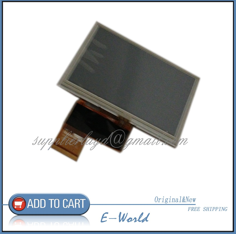 Original New 4.3' Inch Launch X431 Diagun LCD Display With Touch Screen Digitizer Touch Panel Free Shipping Cost.