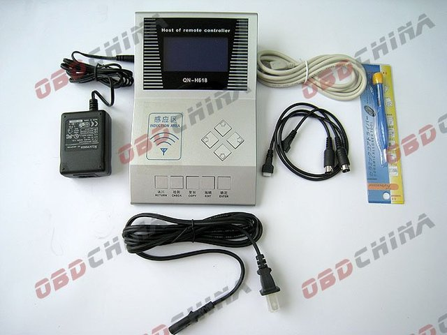 Host of Remote Controller (QN-H618) (remote copy machine,key regenerator) free sipping