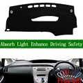 Per Toyota Prius 2012 2013 Right Hand Drive Noleggio Copertura Cruscotto Dash Zerbino Cruscotto Pad Tappeto Dash Zerbino
