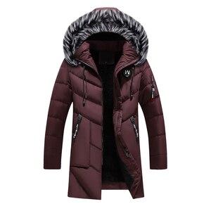 Image 3 - BOLUBAO Marca di Modo Degli Uomini Wram Parka Casual Cappotto di Inverno di Alta Qualità Degli Uomini Cappotto Con Cappuccio Giubbotti Casual Parka degli uomini di