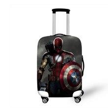 """1""""-32"""" супергерой Тор эластичный багажный Защитный чехол Чехол на колесиках чехол-Пыльник Мультяшные аксессуары для путешествий"""