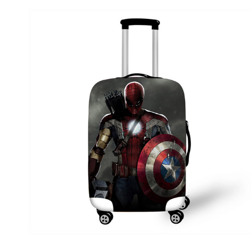 18''-32'' Superhero Thor Elastic Luggage Protective Cover Trolley Suitcase Dust Bag Case Cartoon Travel Accessories