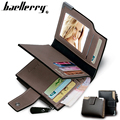 Genuine leather wallet men purse short male wallet leather baellerry brand famous men's purse money bag quality guarantee !