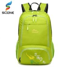 Hot Outdoor Sports bag Travel Camping Backpacks Nylon folding waterproof Backpack rucksacks Road bag Knapsack Riding Backpack