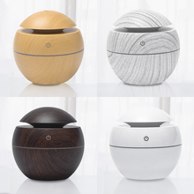Changeable Aroma Essential Oil Diffuser Mini USB Air Humidifier Portable Ultrasonic Mist Humidifier Air Purifier LED Night Light