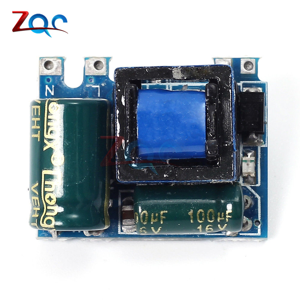 <font><b>AC</b></font>-<font><b>DC</b></font> <font><b>5V</b></font> 600mA <font><b>3W</b></font> Isolated Switching Power Supply Module 220V to <font><b>5V</b></font> Buck Step Down Module Voltage Regulator for Arduino image