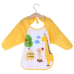 Mimosa baby bibs toddler waterproof long sleeve bib boy apron animal smock bib burp cloths kids.jpg 250x250