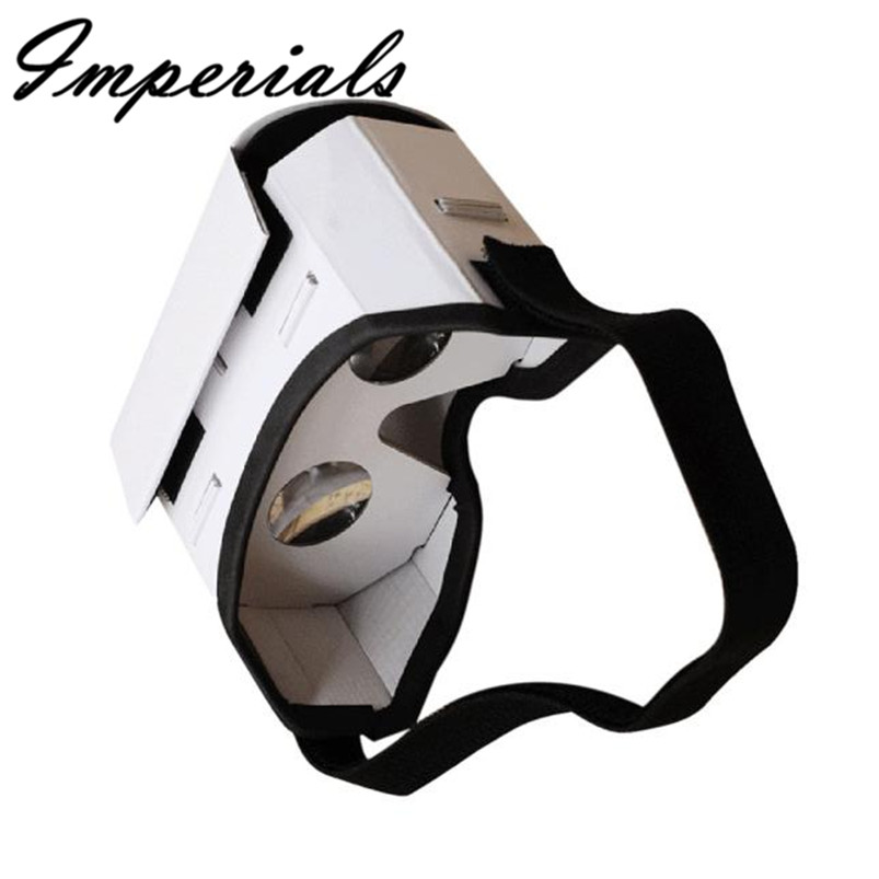 3D Google VR Box Virtual Reality Glasses Cardboard Game Movie for Smart Phone 153 mm x