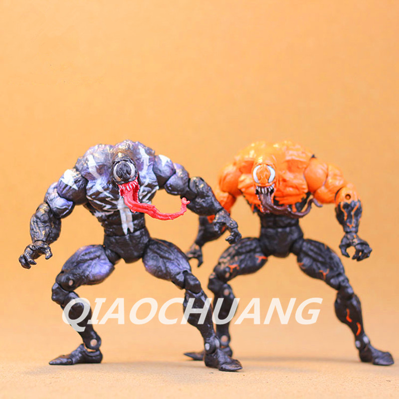 The Amazing Spider Man Superhero Main Enemy Venom PVC Action Figure Collectible Model font b Toy
