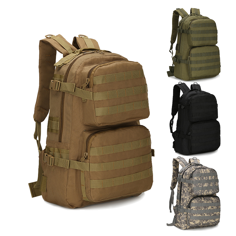 45L Outdoor 3D Tactical Backpack Molle Multifunctional Bag Military Army Pack 800D Waterproof Camping Hiking Camouflage Bags Men men military tactical backpack hiking waterproof travel sport outdoor bags multifunctional black backpacks camping army bag