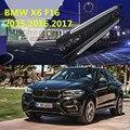 Для BMW X6 F16 2015.2016.2017 автомобильные беговые доски авто боковые ступенчатые педали высокого качества новый оригинальный дизайн Nerf Bars
