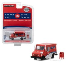 Green Light 1:64 CANADA POST LONG-LIFE POSTAL DELIVERY VEHICLE alloy toy car