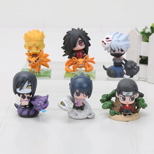 Anime Naruto Action Figures Collection