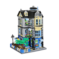 6310 Creator Series The Garden Coffee House Model Building Blocks Set Classic Legoing MOC Architecture Toys Gifts For Children