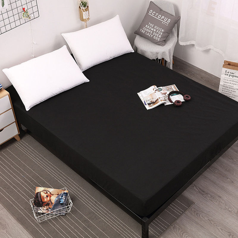 Solid-Waterproof-Absorbent-Mattress-Pad-Cover-Protector-Mattress-Cover-Fitted-Double-Single-Bed-Sheet-Bed.jpg_640x640