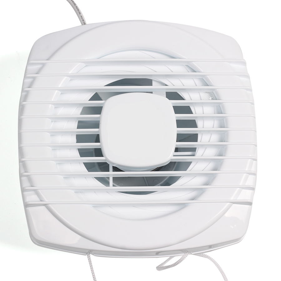 Mini Fan White Exhaust Fan Ventilation Blower Window Wall Mini Air ...