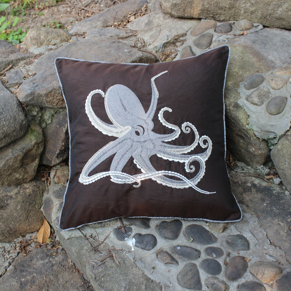aliexpress com buy vezo homenew embroidered octopus sofa