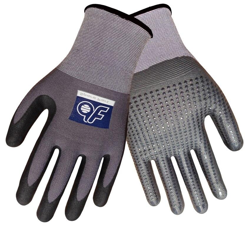 5 paires de gants de sécurité Super Flex en mousse Nitrile et points gants de travail de jardinage résistants à l'abrasion