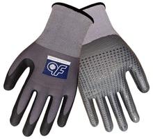 5 Pairs Super Flex Safety Gloves Nitrile Foam And Dots Abrasion Resistant Gardening Work Gloves цена в Москве и Питере