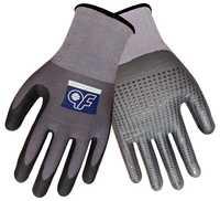 5 Pairs Super Flex Sicherheit Handschuhe Nitril Schaum Und Punkte Abriebfest Gartenarbeit Arbeit Handschuhe