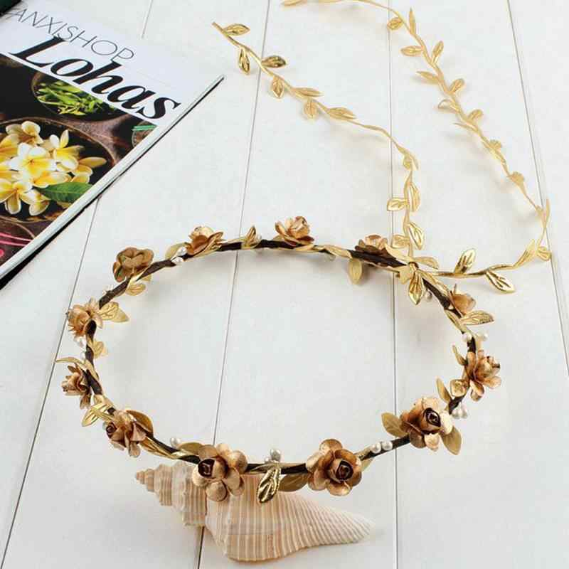 Festival Wedding Wreath Garland Crown Flower Headpiece Photography Tool For Adults And Children Apparel Accessories Girl's Hair Accessories