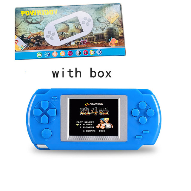 AOSANG портативный игровой плеер 2,0 ''цветной экран видеоигры консоли 268-в-1 классические игры детские USB игры
