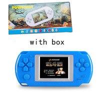 AOSANG портативный игровой плеер 2,0 »цветной экран видеоигры консоли 268-в-1 классические игры детские USB игры