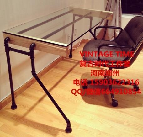 estilo industrial es simple y moderna escritorio
