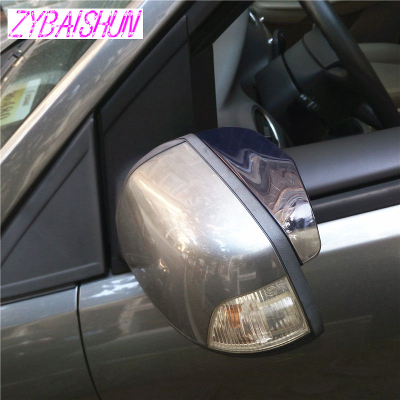 2 шт. Автомобильное зеркало заднего вида водонепроницаемый тент зеркалом заднего вида брови для BMW Все серии 1 2 3 4 5 6 7 x E серии F E46 E90