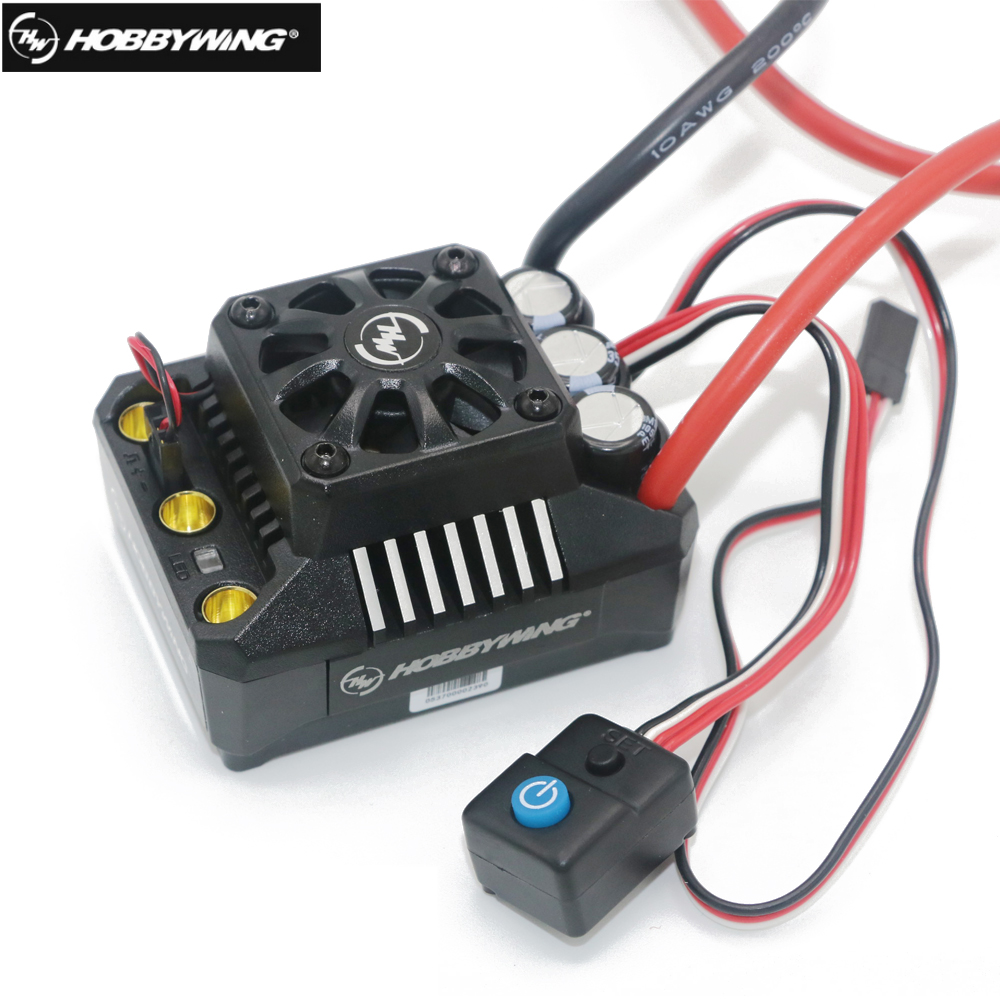 Hobbywing EZRUN Max8 V3 150A Waterproof Brushless ESC TRX PLUG For RC 1/8 Traxxas E-REVO Traxxas Summit HPI Savage Thunder Tiger