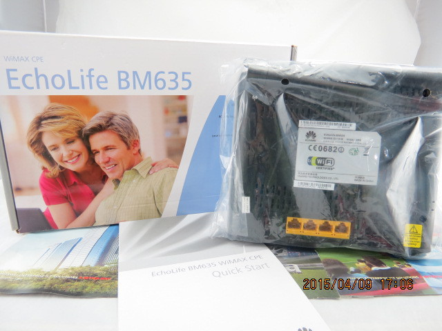 EchoLife BM635 WiMAX CPE Router huawei bm 635 indoor cpe wimax router supports web ui configuration tool