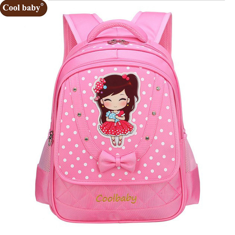 Coolbaby New School Bags for Girls Brand Women Backpack Cheap Shoulder Bag  Fashion Wholesale Kids Backpacks D270 bfde6813bf648