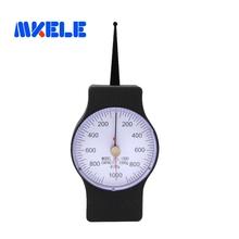 SEG-1000-2 1000g Tensiometer Analog Dial Gauge Double Pointer Force Tools Tension Meter cheap makerele 200-1000-200g