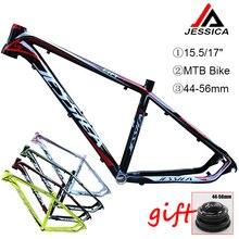 """15.5/17 """"ramki roweru górskiego 26er rower mtb zestaw ramek aluminium zestaw ramek 44 56mm stożkowe BB68 jazda na rowerze zestaw ramek akcesoria"""