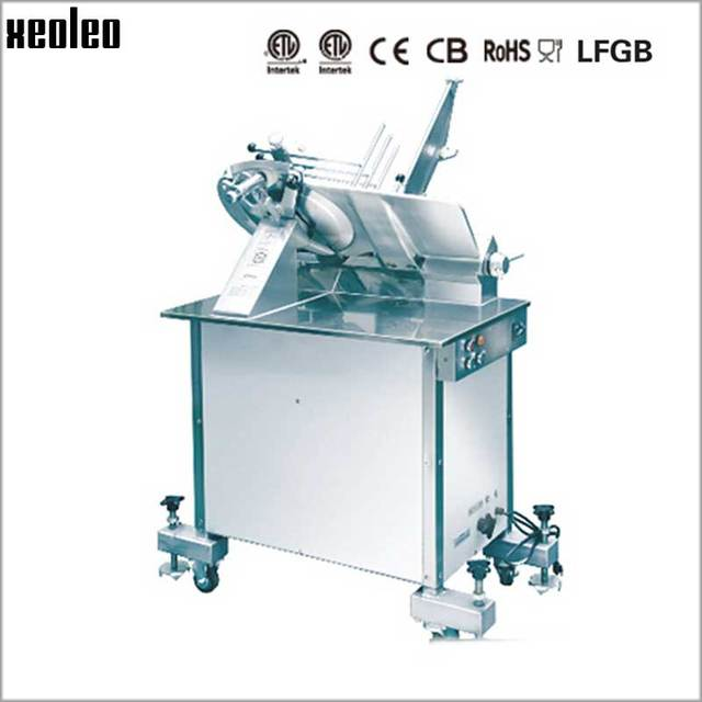 Xeoleo Commercial 14 Inch Electric Automatic Meat Slicer Cut Freezer Mutton Roll Slice Machine