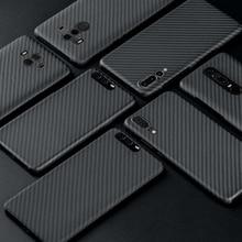 Carbon Fiber Case Voor Huawei P20 P20 Pro Case Matte Cover Voor Huawei P30 P40 Mate 20 Pro Mate 30 30 Pro Case Ultra Dunne Cover