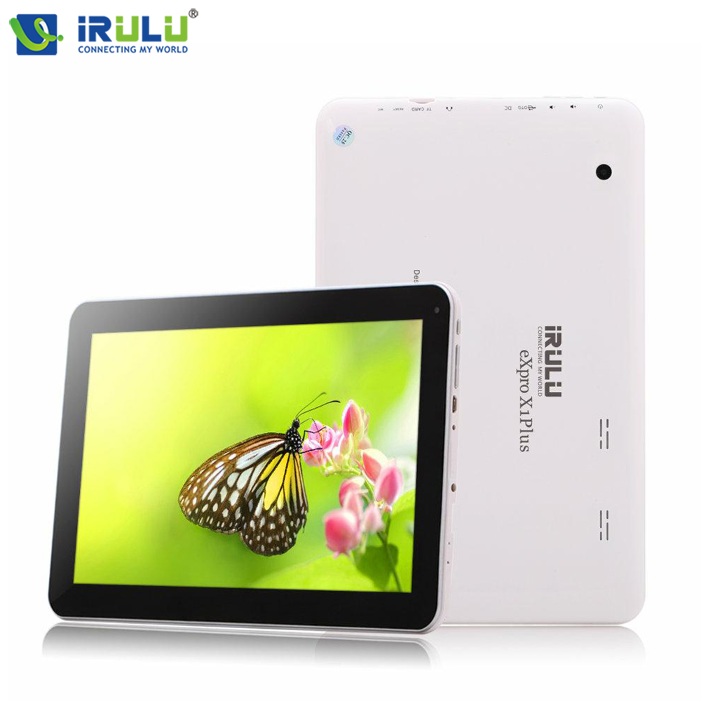 iRULU eXpro X1 Plus Android Tablet Quad Core ROM 8GB Tablet PC 1024x600 TFT HD GMS