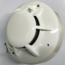 4-проводная детектор дыма с релейный выход 12 v/24 v дымовой пожарной сигнализации, такие как R6601 детектор дыма
