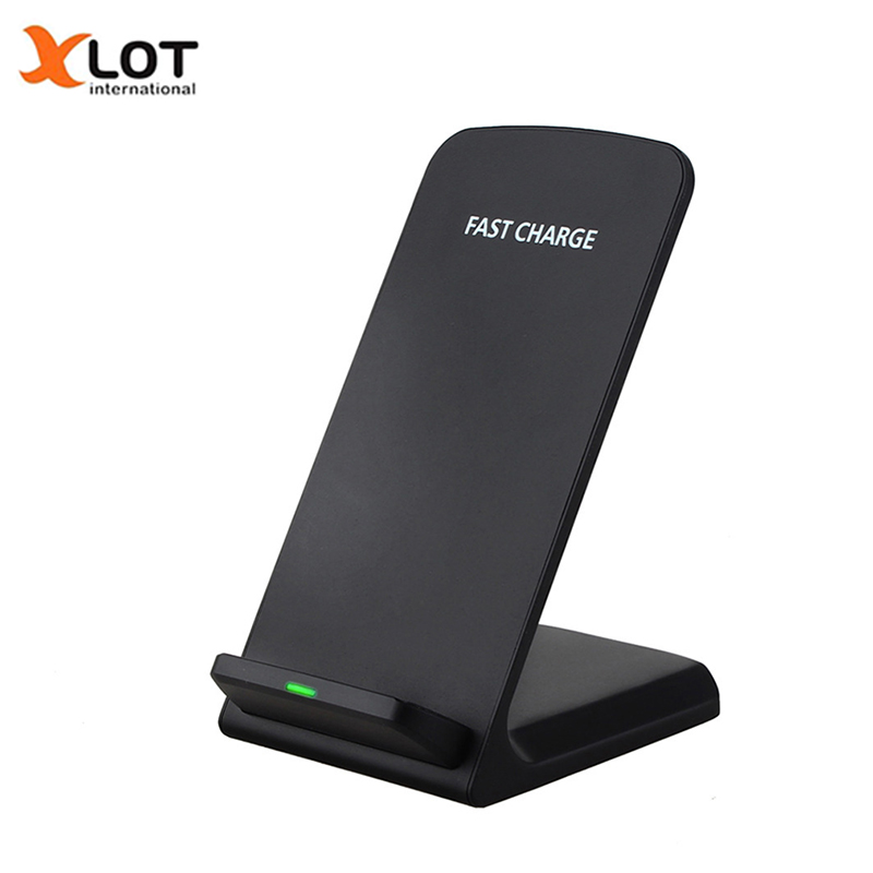 Qi Wireless Charger 2 Coils Fast speed Charging Stand Pad