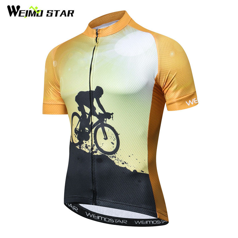 Weimostar Summer Cycling Jersey Shirt Men Quick Dry Bicycle Cycling  Clothing Ropa Ciclismo Short Sleeve MTB f0168a2ce