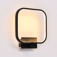 LED Wall Sconces Aluminum Lights 12W Fixture Decorative Lamps Night Light for Pathway Staircase Bedroom Bedside wall light