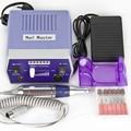 Profesional Eléctrica Uñas de Manicura Máquina de Perforación Archivo Kits Brocas de Lijado de Banda de Accesorios de Uñas Salón de Uñas Herramientas