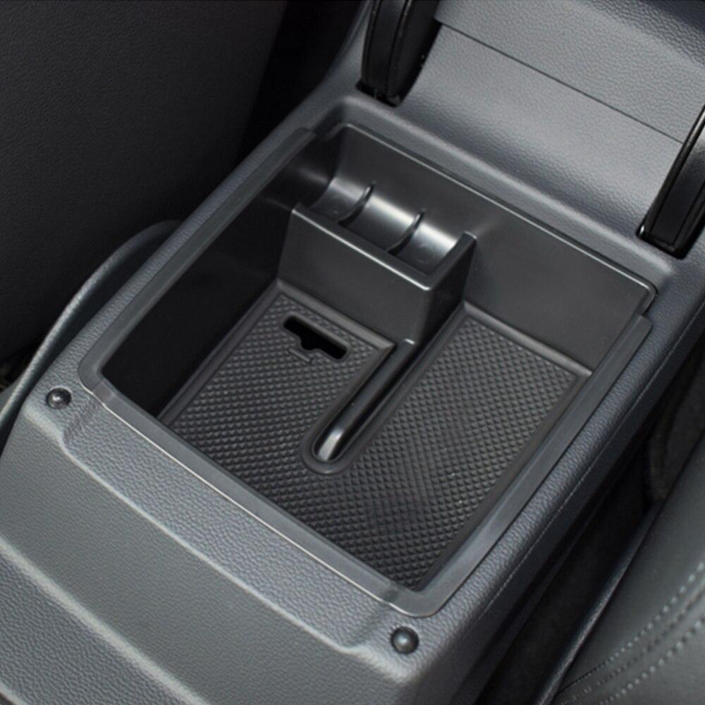 Fit For VW Volkswagen Passat B8 Sedan Variant Alltrack 2015-2017 Armrest Storage Box Center Console Glove Case Tray Bin Container