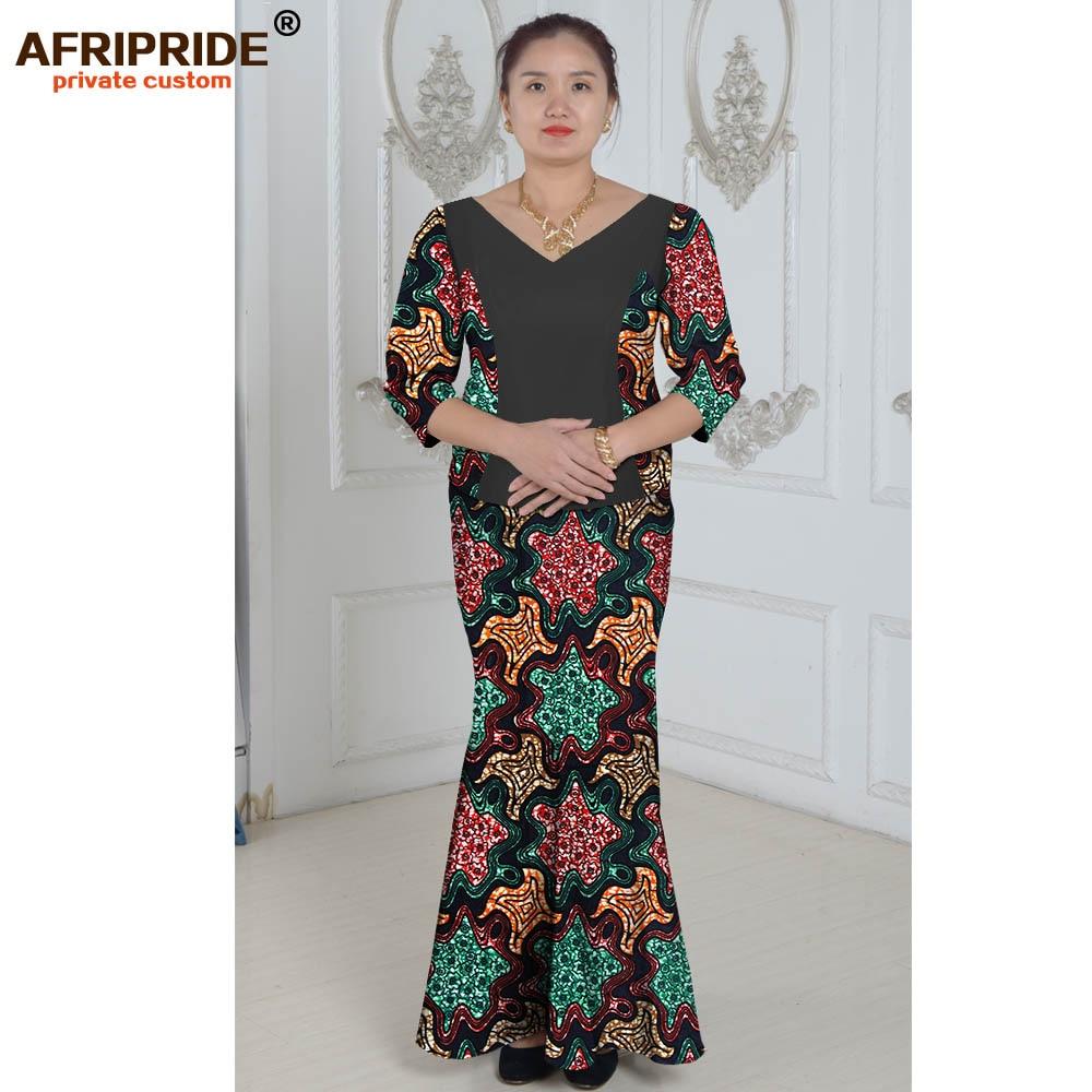 Vêtements africains costume deux pièces costume d'été princesse - Vêtements nationaux - Photo 5