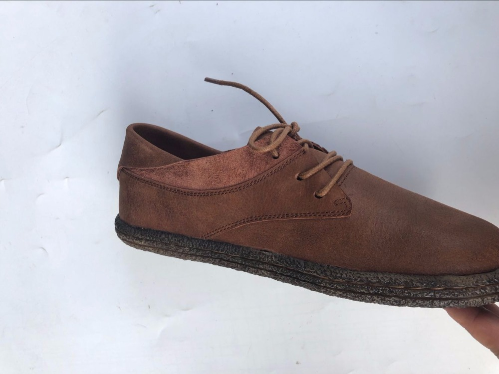 Careaymade-The first layer of leather High-quality shoes, Pure handmade leather  Sen female old vintage flat shoes casual shoes