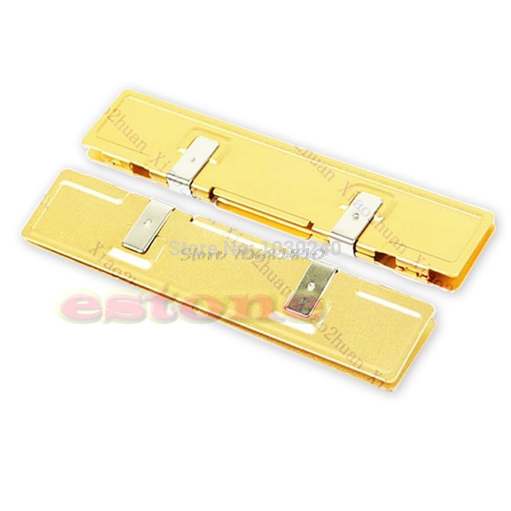 Gold DDR DDR2 RAM NEW Memory Cooler Heat Spreader Heatsink #R179T#Drop Shipping gdstime 2pcs high quality ddr ddr2 ddr3 ram memory heatsink aluminum cooler heat spreader heat sink golden
