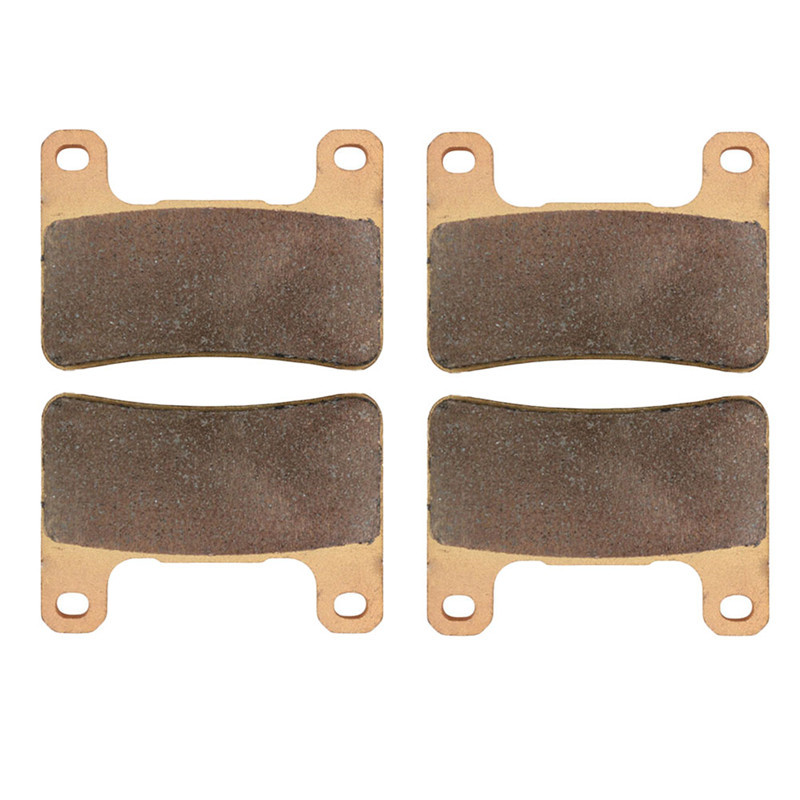 Motorcycle Parts Front Brake Pads Kit For SUZUKI GSXR 600 GSXR600 GSX-R 600 GSX-R600 2004-2010 Copper Based Sintered  motorcycle brake pads front disks for suzuki gsx 750 fw fx fy fk1 fk6 katana 1998 2206 motorbike parts fa231