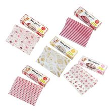 50Pcs/Lot Baking Snacks Packaging Oil Paper Food Grade Baking Tray Wrapping Paper Wax Paper Decoration