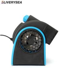 Car 12V 24V No leaf Air Conditioning Fan Mute Super Power Adjustable speed Turbine #B1094